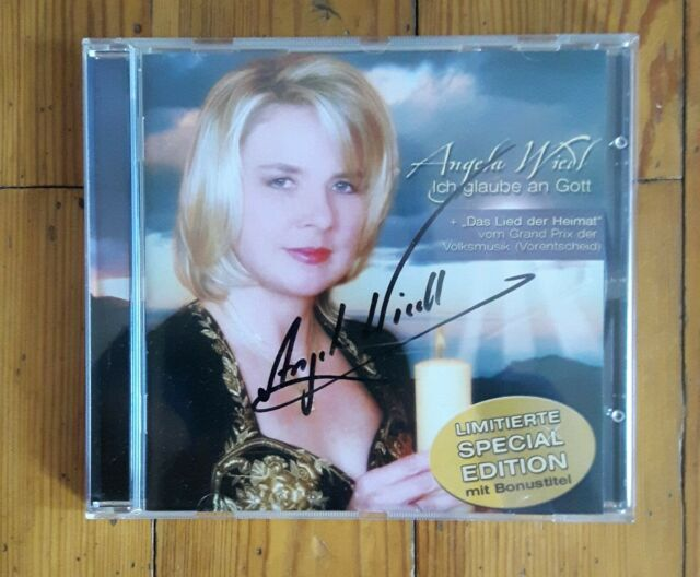 Angela Wiedl – Ich glaube an Gott - CD – mit Autogramm signiert