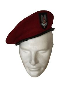 British Army SAS Red Beret Reproduction - Size Large - New