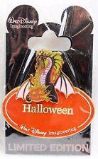 Disney WDI Name Tag Imagineer Cast LE 300 Pin Nametag Maleficent Halloween