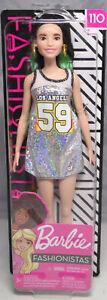 Barbie-Fashionistas-110-Tall-Los-Angeles-Dress-Kleid-FXL50-2018-NEU-OVP-NRFB