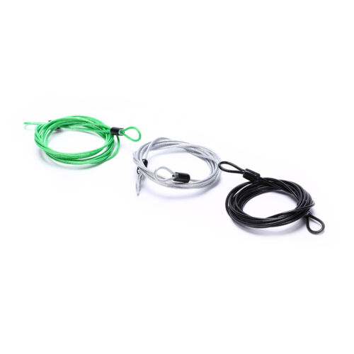 200CM x 2.5MM Cycling Sport Security Loop Cable Lock Bicycle Scooter U-Lo $B