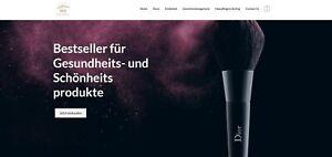 Webshop über Gesundheit & Schönheit - Affiliate Webseite