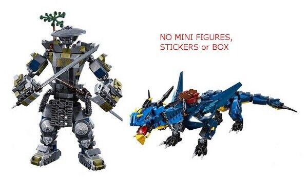 LEGO 70658 & 70652 70652 70652 - Ninjago - Oni Titan & Stormbringer - NO MINI FIGURES   BOX 779576