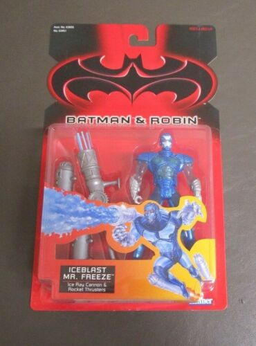 Freeze 1997 BATMAN /& AND ROBIN Kenner MOC Iceblast Mr