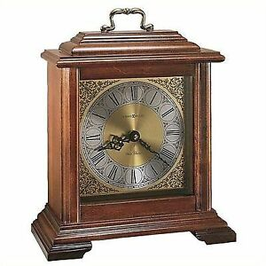 Howard Miller Quartz Carriage Chiming Mantel Clock 612481 Medford