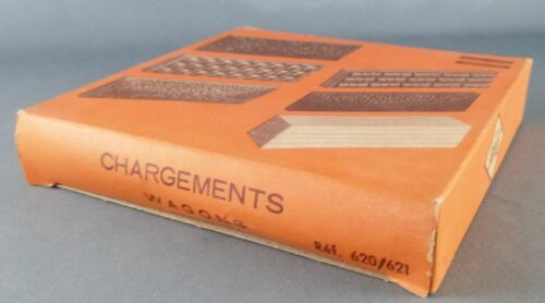 Details about  /Jouef 620 621 Ho Sncf 6 Chargements Assortis Wagons Plats /& Tombereaux 1957 Neuf