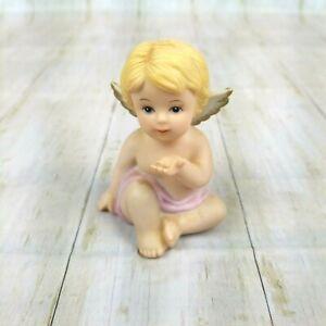 Home-Interiors-HOMCO-Heavenly-Cherubs-1991-1430-Replacement-Figurine-Porcelain