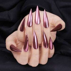 Image Is Loading 0 1g Born Pretty Mirror Nails Glitter Rose