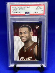 2003-Lebron-James-Topps-Pristine-Mini-Rookie-PSA-10