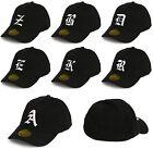Casual Flexfit Baseball Snap Back Cap Drem Fit Caps Gothic 3D Letter hat Unisex