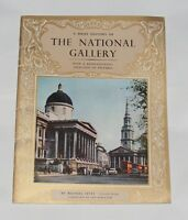 GUIDEBOOK - A BRIEF HISTORY OF THE NATIONAL GALLERY 24 PAGES PITKINS