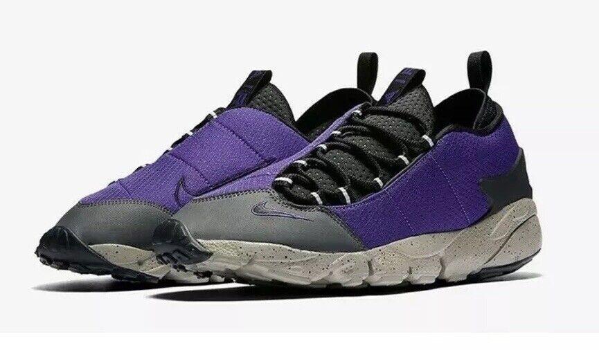 Nike Air Footpas  NmCourt scarpe da ginnastica SZ12 US 100% AUTHENTIC viola  alta quaità