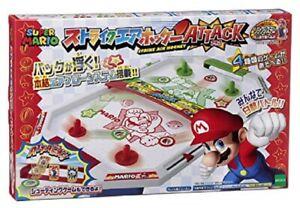 Board Game Nintendo Super Mario Air Hockey Attack By Epoch Japan Ebay