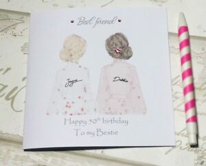 Image Is Loading Beautiful Birthday Card For Best Friend Sister Cousin