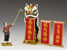 """""""The Lion Dance Set"""" HK245 King And Country Streets of Old Hong Kong"""