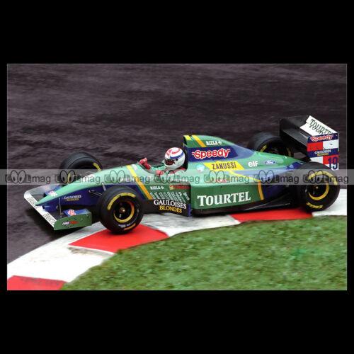 #pha.019021 Photo LARROUSSE LH94 PHILIPPE ALLIOT GRAND PRIX F1 1994 Car Auto