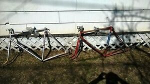 Astra-and-Gitane-framesets-with-complete-BB-and-headset