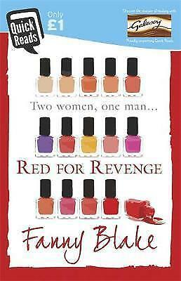 """1 of 1 - """"AS NEW"""" Red for Revenge (Quick Reads 2015), Blake, Fanny, Book"""