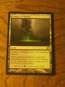 1x Temple of Malady, MP, Journey into Nyx, Commander EDH Golgari Scry Land