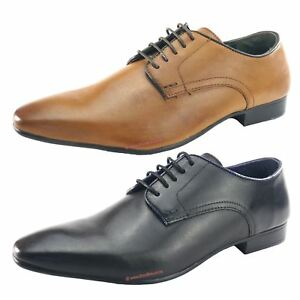 3c4faefc50308 Silver Street Baker Formal Mens Lace Up Leather Smart Office Shoes ...