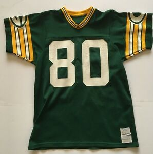 online store 944ff 04d1f Details about RARE James Lofton Green Bay Packers VINTAGE SAND KNIT JERSEY  ADULT LARGE