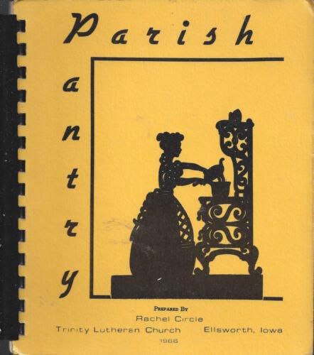 ELLSWORTH IA 1966 PARISH PANTRY *ETHNIC SCANDINAVIAN COOK BOOK *LUTHERAN CHURCH