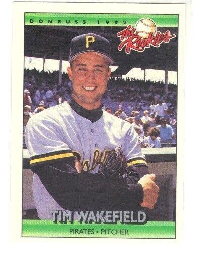 1992 Donruss Tim Wakefield 121 Baseball Card