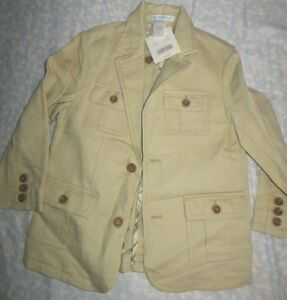 d8df717fd67 Image is loading NWT-Janie-and-Jack-boys-Linen-Blend-Cargo-