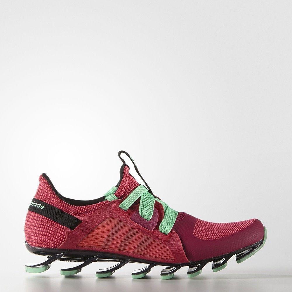 Adidas Springblade Nanaya Women's AQ5247 Running Training Red Mint Rare
