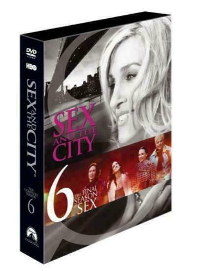 Sex And The City Complete Hbo Season 6 Dvd Sarah Jessica -3324