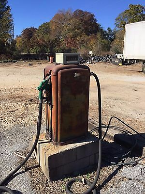 Vintage Gilbarco Gas Pump W Veeder Root Meter Register EBay
