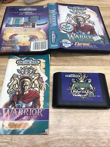 Warrior of Rome Sega Genesis 1991 Complete
