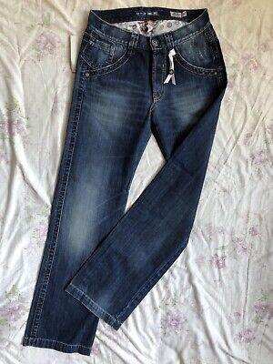 TAKE TWO Manson Damen Blue Jeans W29L32 low waist regular fit straight leg | eBay