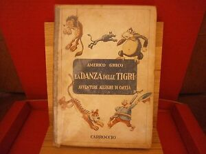 Greco-Americo-La-danza-delle-tigri-Carroccio-1945