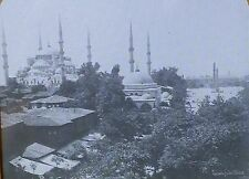 Mosque of Sultan Ahmed I, Constantinople (Istanbul), Magic Lantern Glass Slide