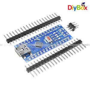 1//2PCS 16M 5V Mini USB Nano V3.0 ATmega328 Micro-controller CH340 For Arduino