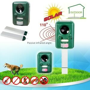Battery Operated Ultrasonic Cat Fox Dog Rodent Repeller