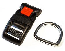 Set für Paracord Hundehalsband 1x-Sicherheitsschnalle 1x D-Ring