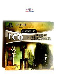 ICO-Ombre-de-Colosse-Gow-Presse-Kit-Examen-Code-PS3-Presse-Non-publie-Materiel