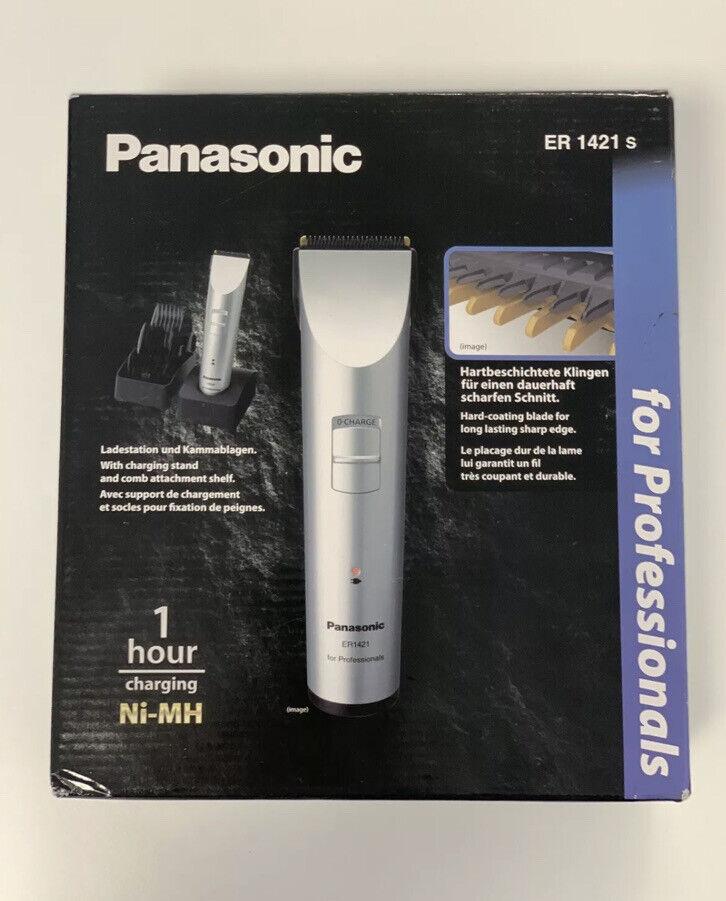 Panasonic ER 1421 S Profi Haarschneider Trimmer Haarschneidemaschine SET