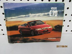 1998-Volvo-C70-Owners-Manual-book-only-FREE-SHIPPING