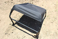 All Polaris Rzr 800 Xp900 570 Black Bimini Soft Top Roof / Shade Cover 2008-17