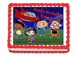 Little Einsteins Edible Cake Image Cake Party Decoration