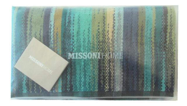 MISSONI HOME ASCIUGAMANO BATH TOWEL GIFT PACKAGING PHOEBE 150 70x115 SERVIETTE