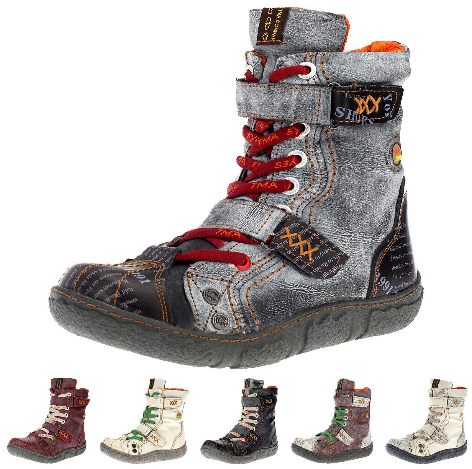 TMA Damen Stiefeletten WinterStiefel Winterstiefel Warmfutter Freizeit Schuhe 7087