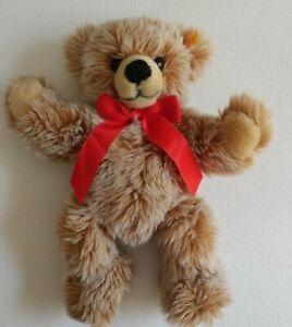 """Vintage Steiff Bobby Baby Bear 1970's Mohair KNOPF IM OHR 13"""" Collectible"""
