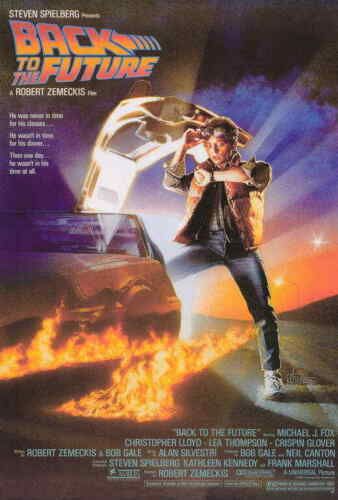 BACK TO THE FUTURE 11x17 Movie Poster A LicensedNewUSA