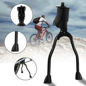 Strong Double Leg Stand Kick Kickstand Bike Support Spring Center Bicycle Cycle