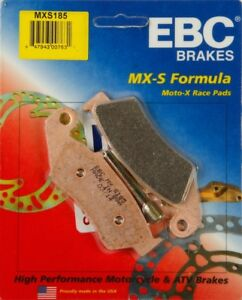 EBC - MXS185 - MXS Series Race Sintered Brake Pads