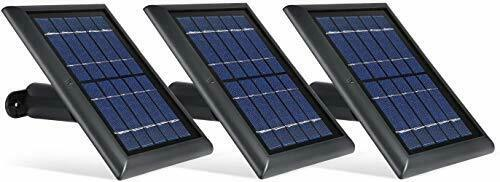 [Updated Version] Wasserstein Solar Panel with 13.1ft/4m Cable Compatible with A